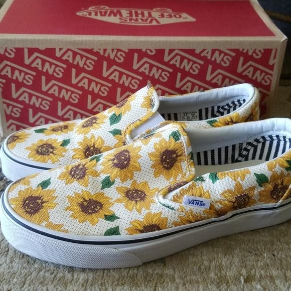 c1115148242 NWT Vans Sunflower Shoes